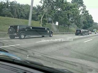 Kereta Obama Sudah Sampai Ke Malaysia