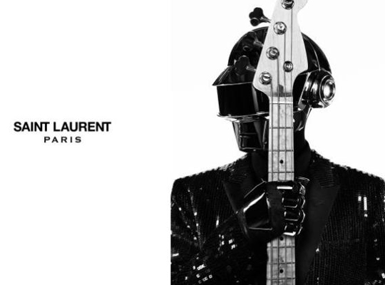 Saint Laurent for Daft Punk