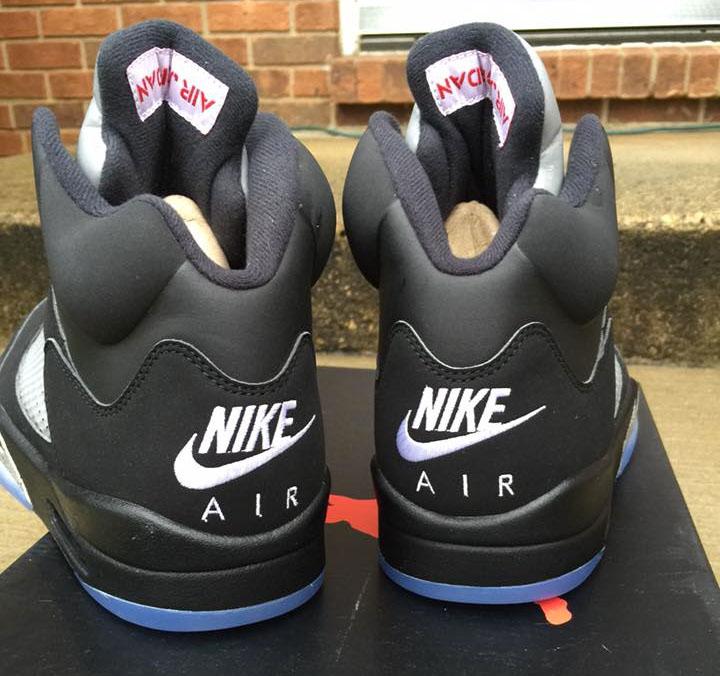 Air Jordan 5 Nike Rétro Métallique Noir