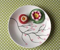 Mijn cherry blossom plate-tutorial voor Design*sponge