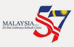 Logo Dan Tema Hari Kebangsaan 2014