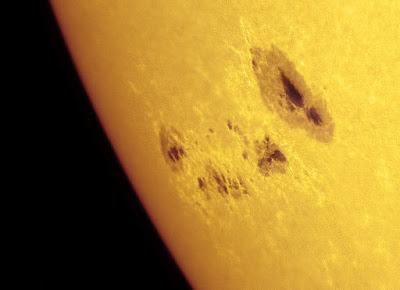 Manchas solares 1476