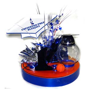Nobbies Parties Blog: Custom Graduation Centerpieces