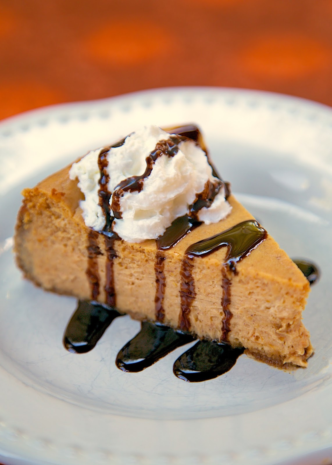 Disneyland's Pumpkin Cheesecake