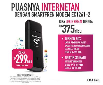 Modem Huawei Smartfren EC1261-2