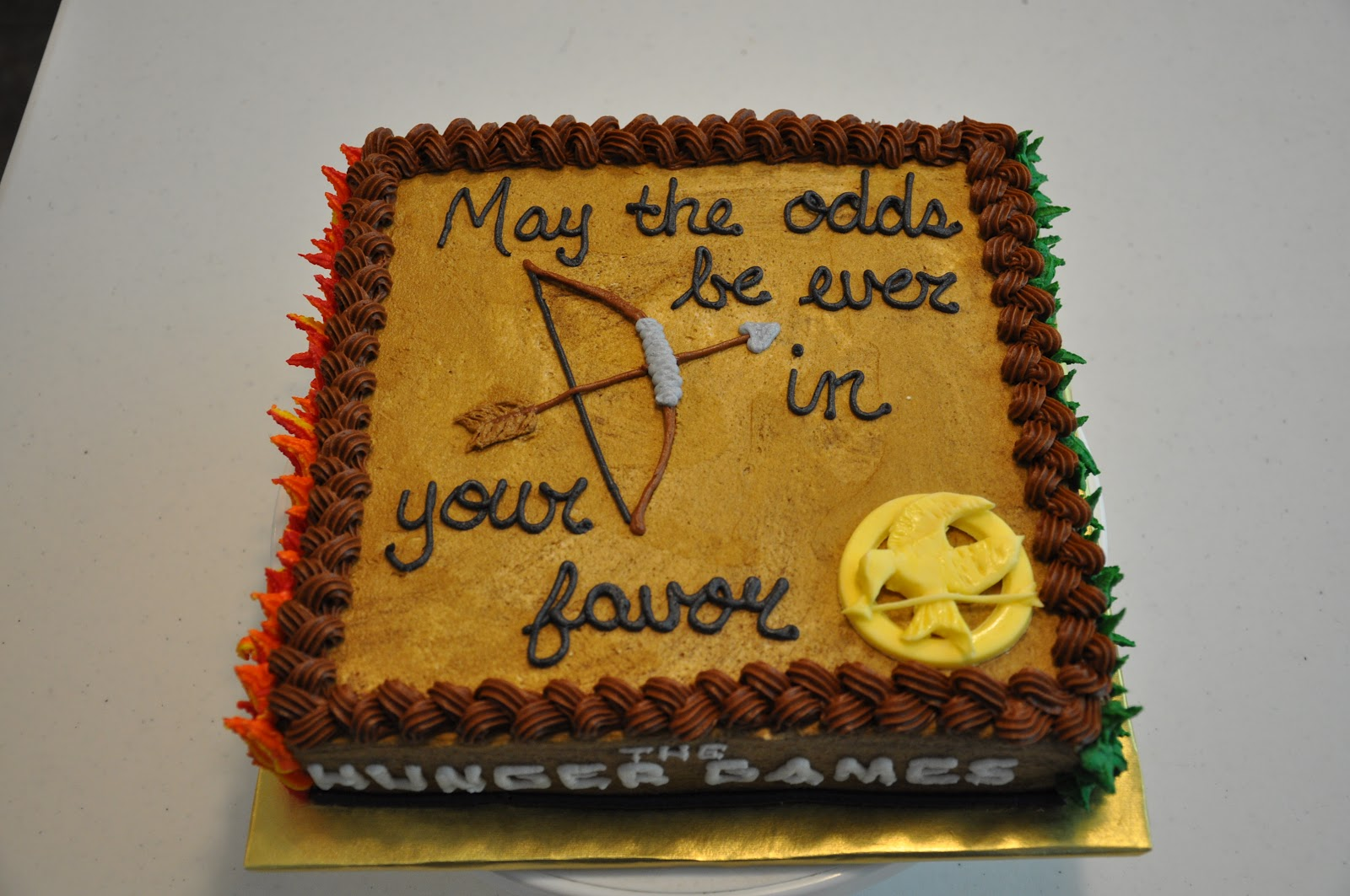 Cakes By Marion The Hunger Games