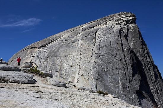 Half Dome granito cima