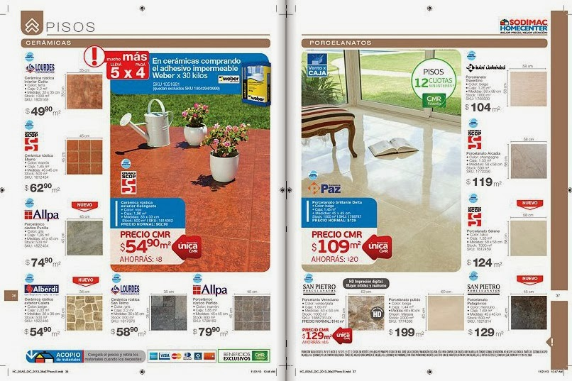 Catalogos online catalogo sodimac abril 2014 for Sodimac catalogo griferias