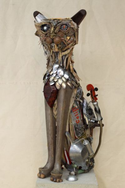 Metal Sculptures Seen On www.coolpicturegallery.us