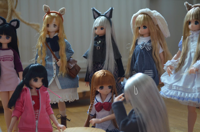 azone dolls animals