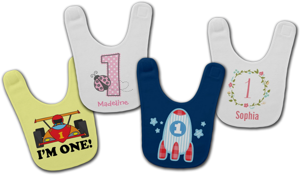 Birthday Baby Bibs Designs