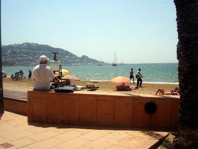 Playa en Rosas Gerona