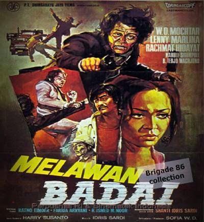 Brigade 86 Movies Center - Melawan Badai (1974)