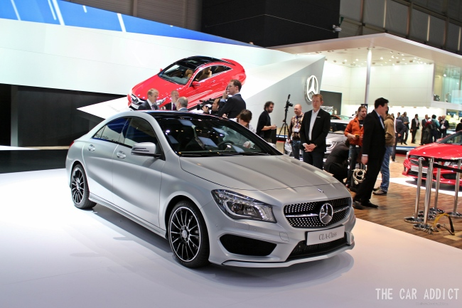 Geneva Motor Show 2013 Gallery: Mercedes-Benz and AMG