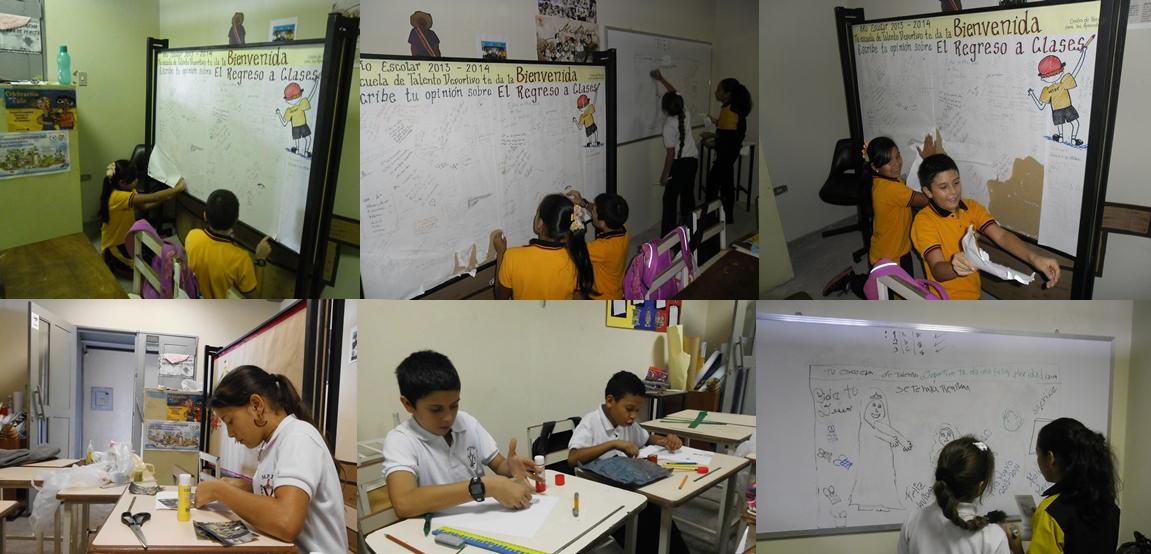 Unidad educativa de talento deportivo t chira peri dico for Diario mural escolar