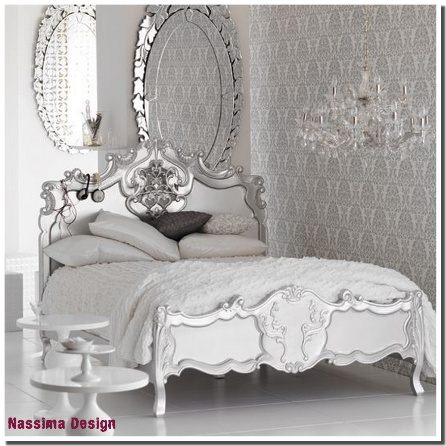 Pin chambre baroque noir et blanc idee on pinterest - Chambre baroque rose ...
