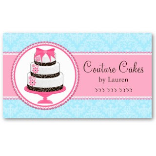 Business card showcase by socialite designs gourmet cake bakery gourmet cake bakery business cards fbccfo Image collections