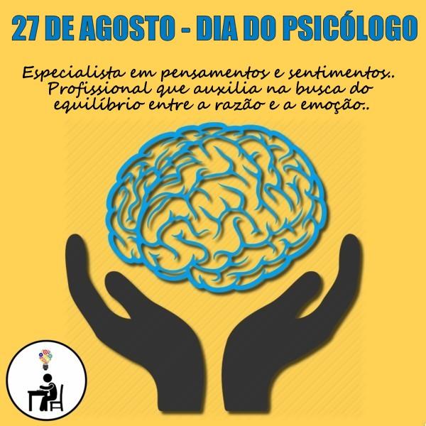 Dia do psicologo, atelier wesley felicio, mensagem dia do psicologo, psicologia, psicanalise, faculdade, curso,