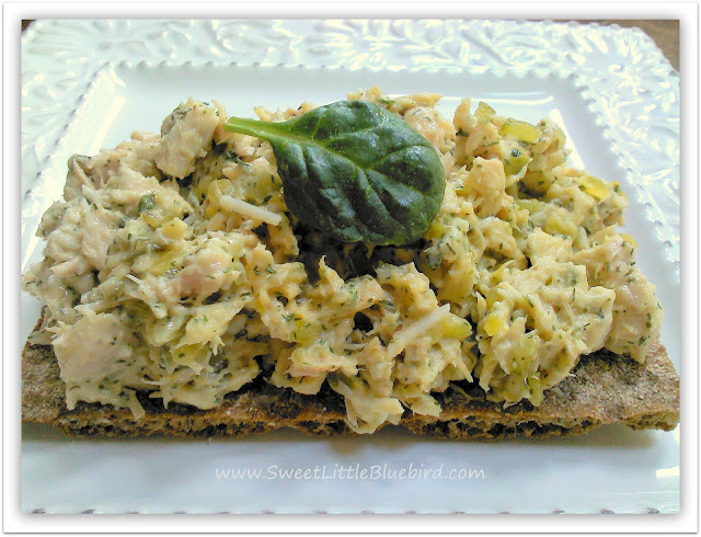Tuna salad served on a multi-grain Wasa cracker - I love Wasa ...