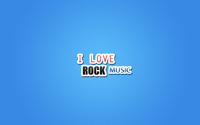 HD I Love Rock Music wallpaper