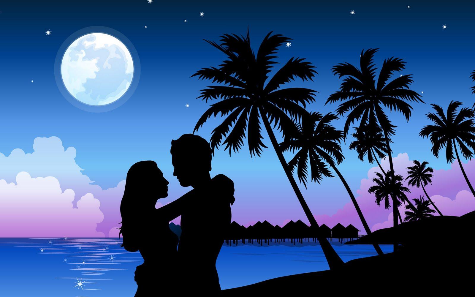 Romantische achtergronden hd wallpapers - Couple best images ...