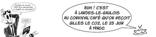 Convivial'Café : dédicace de Gilles Le Coz (+ d'infos)