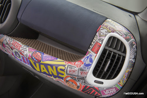 Fiat 500L-Vans Dashboard
