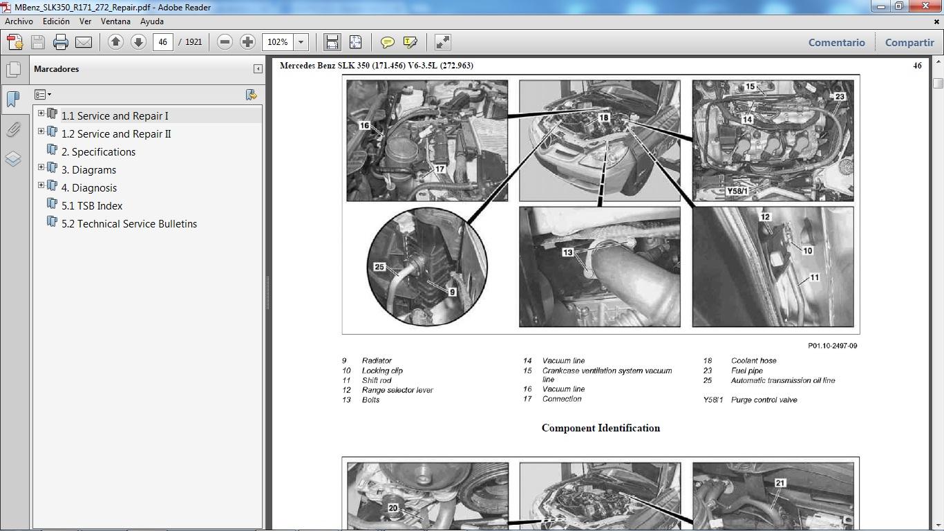 2007 mercedes e350 repair manual for Mercedes benz e350 manual