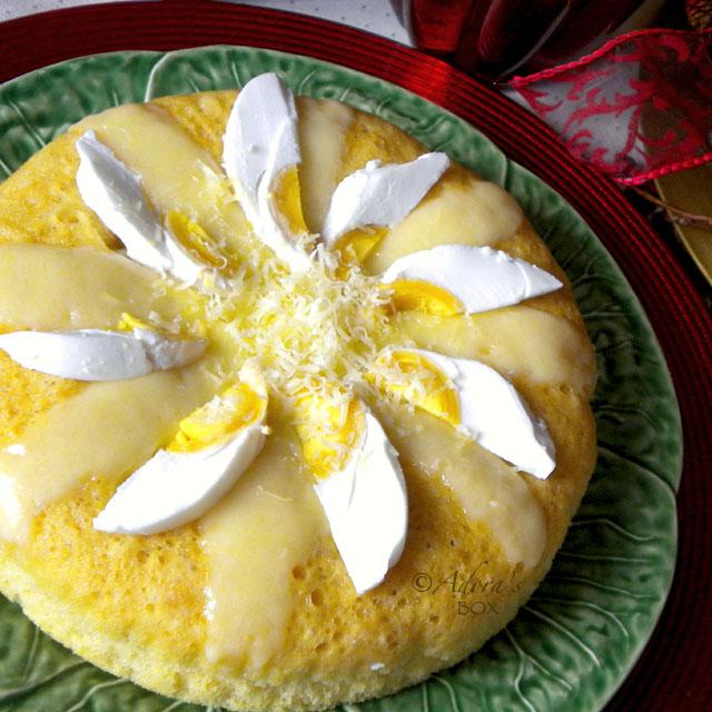 How To Make Steamed Egg Cake