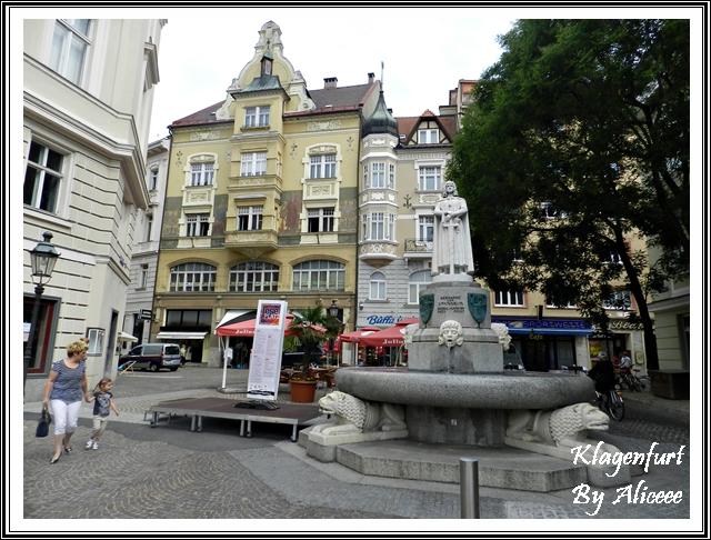 Klagenfurt-Austria-centru-istoric