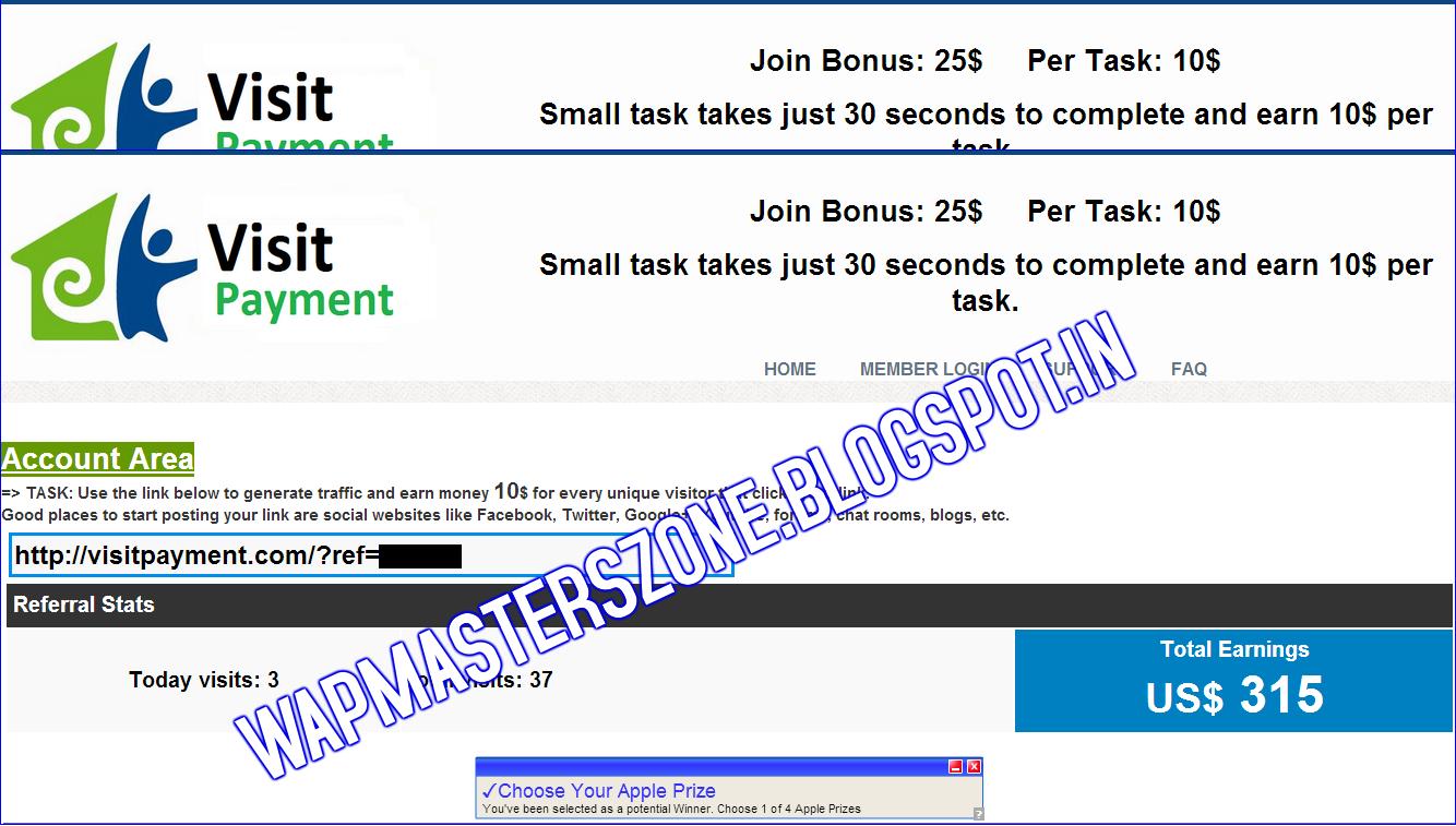 VisitPayment.com Is fake Site-Fraud Site