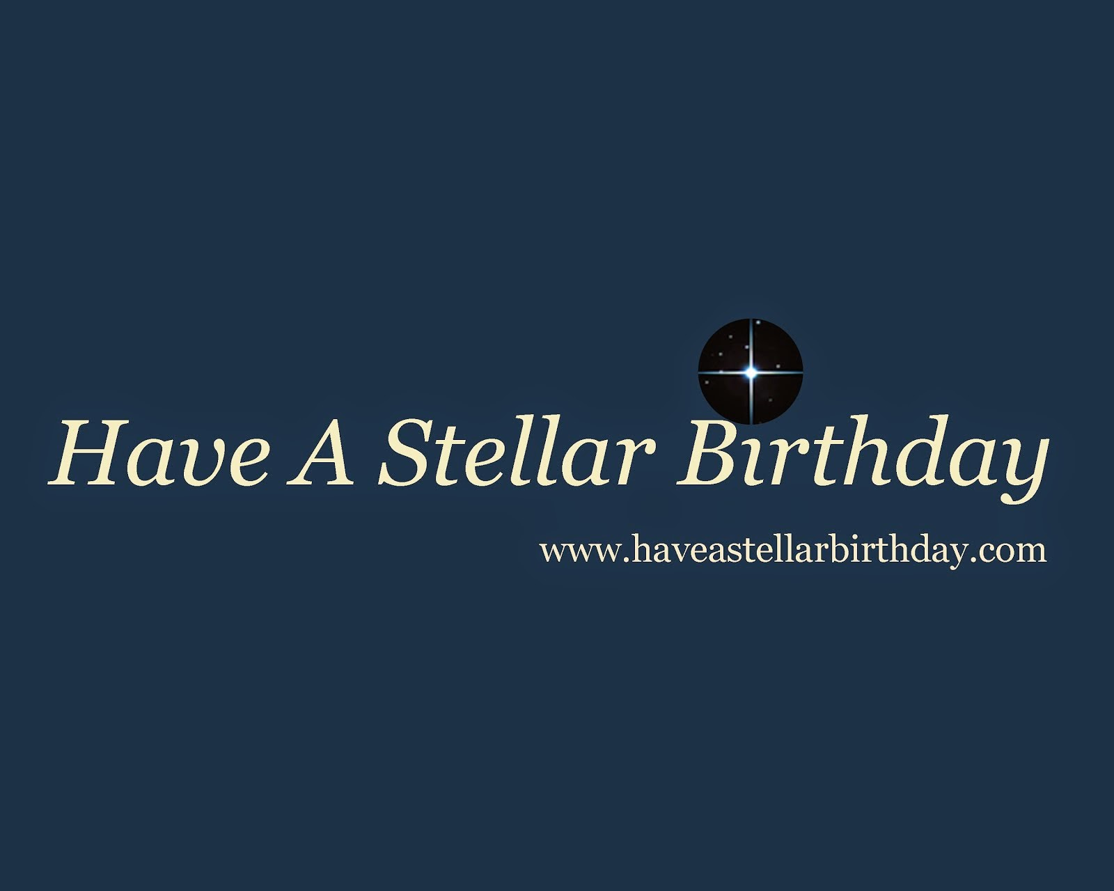 Have A Stellar Birthday