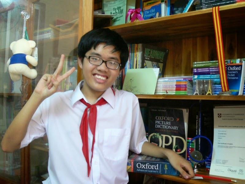 Học sinh đầu tiên đạt 8.0 IELTS của tỉnh Bình Định