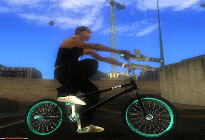 BMX Black Edition Para GTA San Andreas