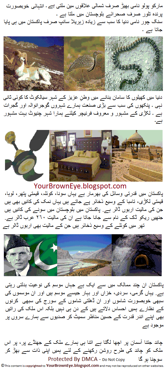 Essays on pakistan my country