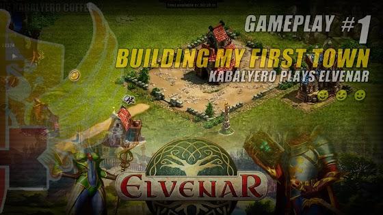 Elvenar • Building My First Town