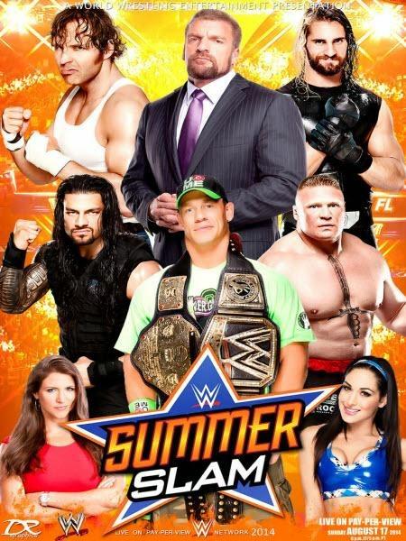 WWE SummerSlam (2014) PPV HDTV 750MB