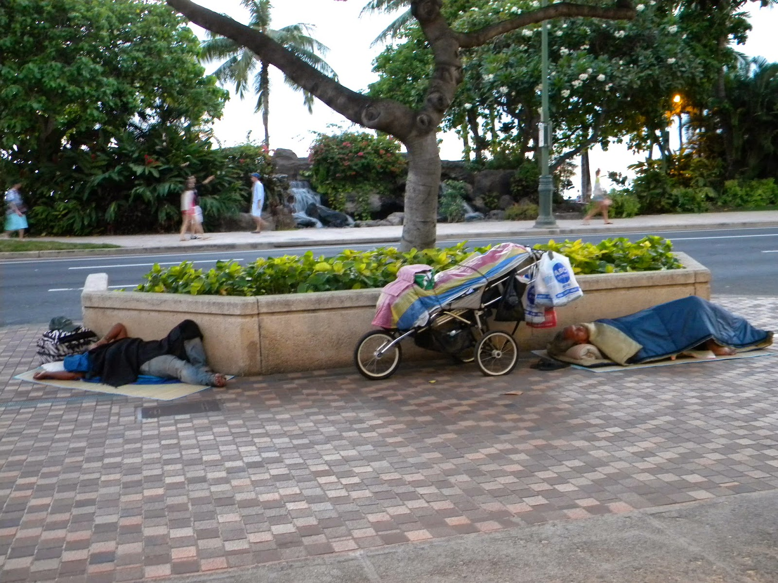 Image result for homeless in waikiki