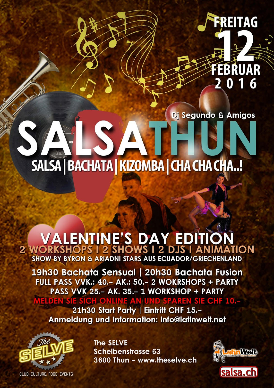 SALSATHUN PARTY 12.02.16