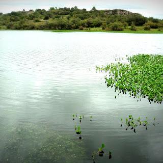Barragem João Dias, Minas do Camaquã, Caçapava do Sul (RS).