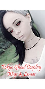 Tokyo Ghoul Cosplay Lenses & Wigs Available