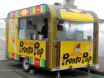 photo of Pronto Pup Trailer in Rockaway Beach Oregon