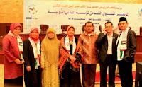 bersama Ust yoyoh Yusroh di Sudan