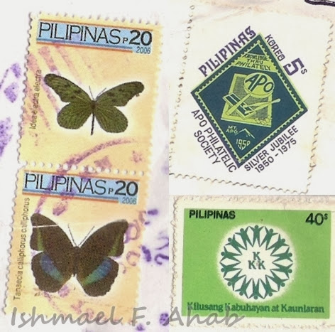 Old stamps issued by PhilPost