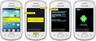 Download mode Samsung Galaxy Star Duos S5282