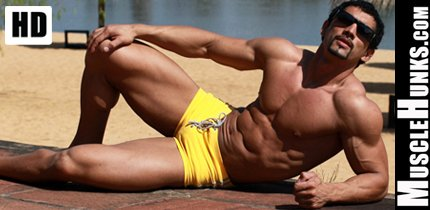 Hot Muscular Hunks Male Bodybuilders