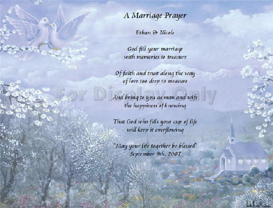 Poems About Love Marriage