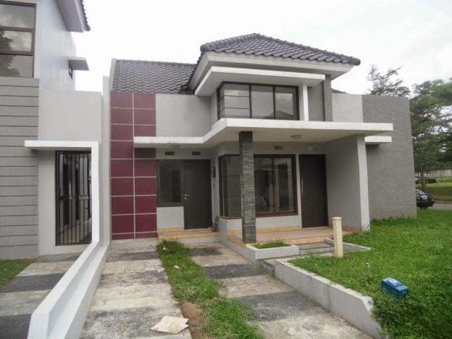 Contoh rumah cantik modern
