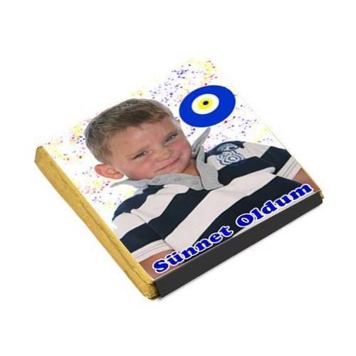 Sünnet İkramlik Resimli Cikolatalar