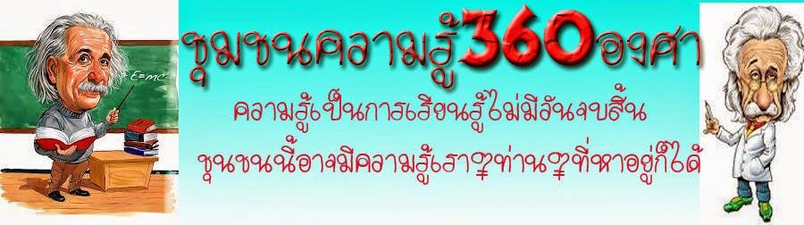 ชุมชนความรู้360องศา